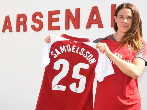 Swedish NT Player Jessica Samuelsson signs for Arsenal