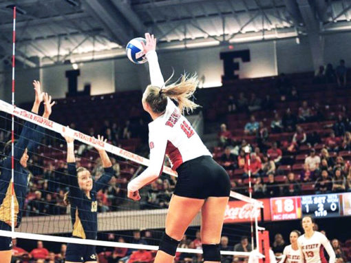 CMG signs AVCA East Region Player of the Year Julia Brown