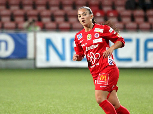 Michelle de Jongh has signed a deal with Vittsjö GIK