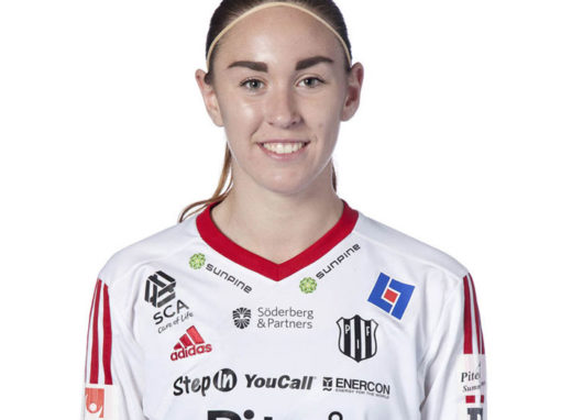 Moa Öhman signs a new deal with Piteå IF