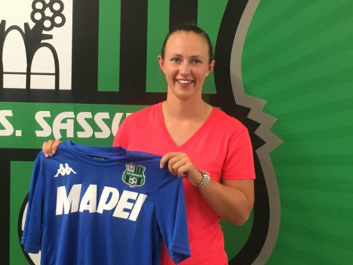 Scottish international Eilish McSorley joins Italian Serie A team Sassuolo