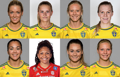 8 clients in Sweden U23 squad