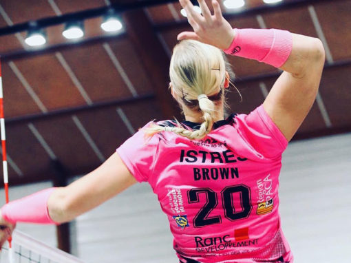 Julia Brown joins Istres Provence Volley
