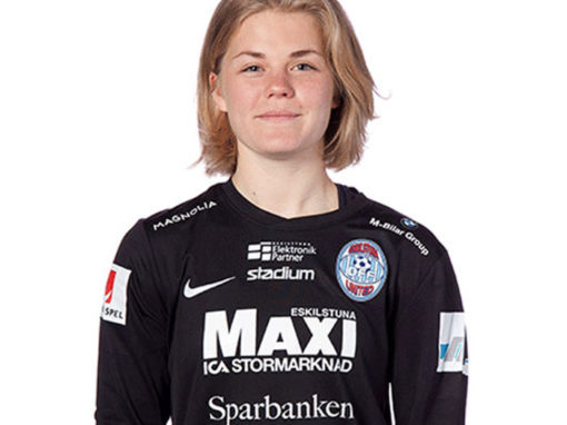 Britta Elsert Gynning signs a new deal with Eskilstuna United