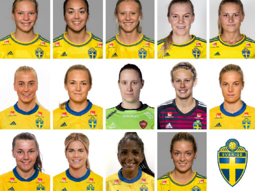 14 CMG clients are representing the Swedish Women's and U23 Teams